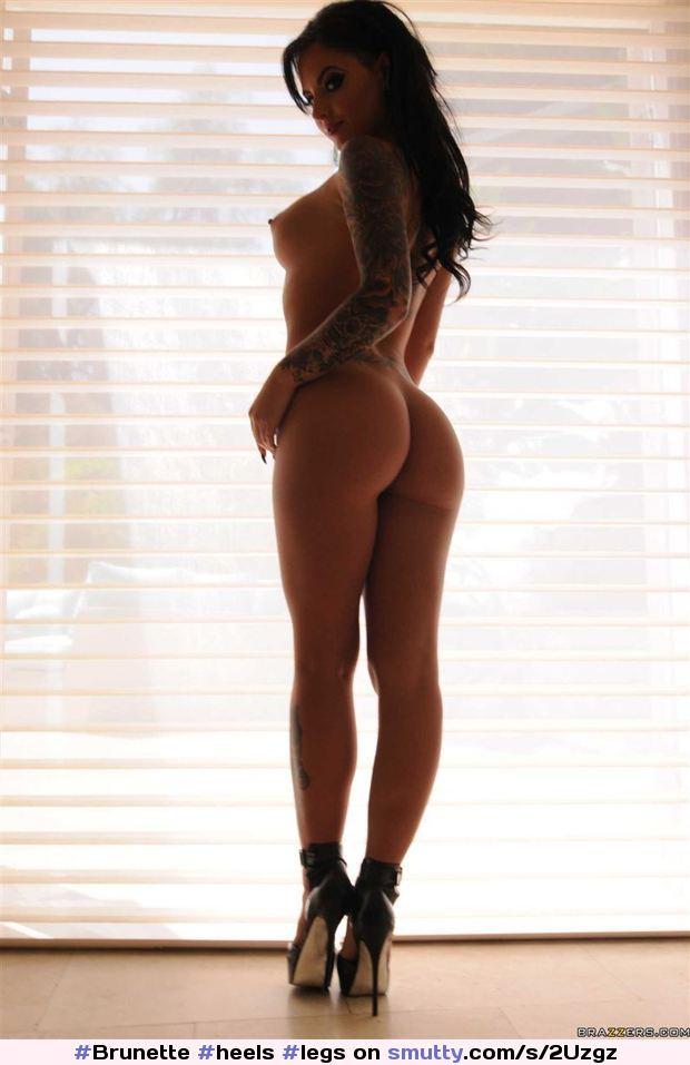 christy mack #heels #legs #ass #Brunette