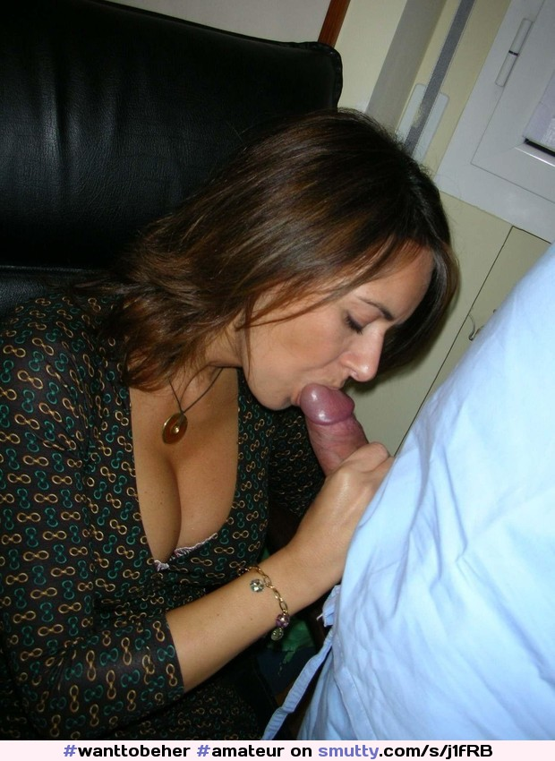 For sexulus milf cleavage blowjob is