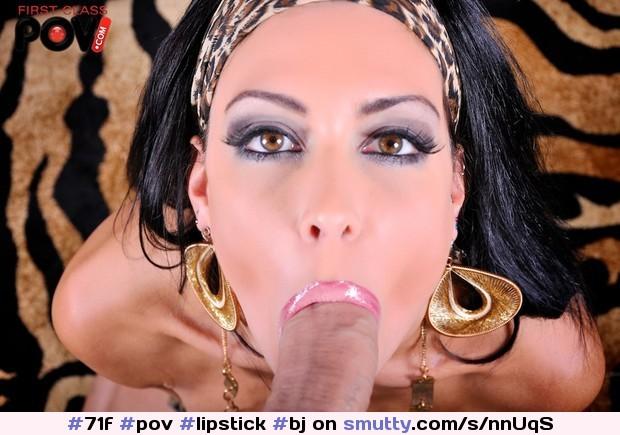 Caramel Kitten Sucking Dick