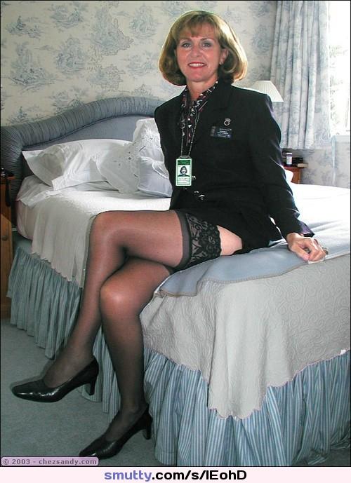 Pantyhose stewardess movies
