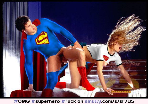 Nude naked women sexy super superhero