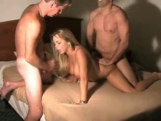 black cock titty fucks my wife