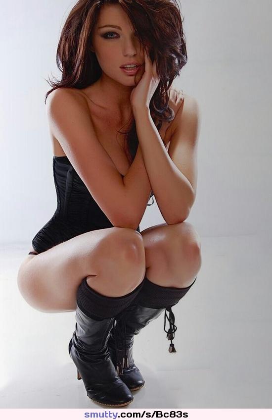 Hot sexy burnette