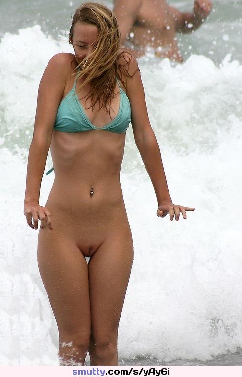 Bikini exposed vigina