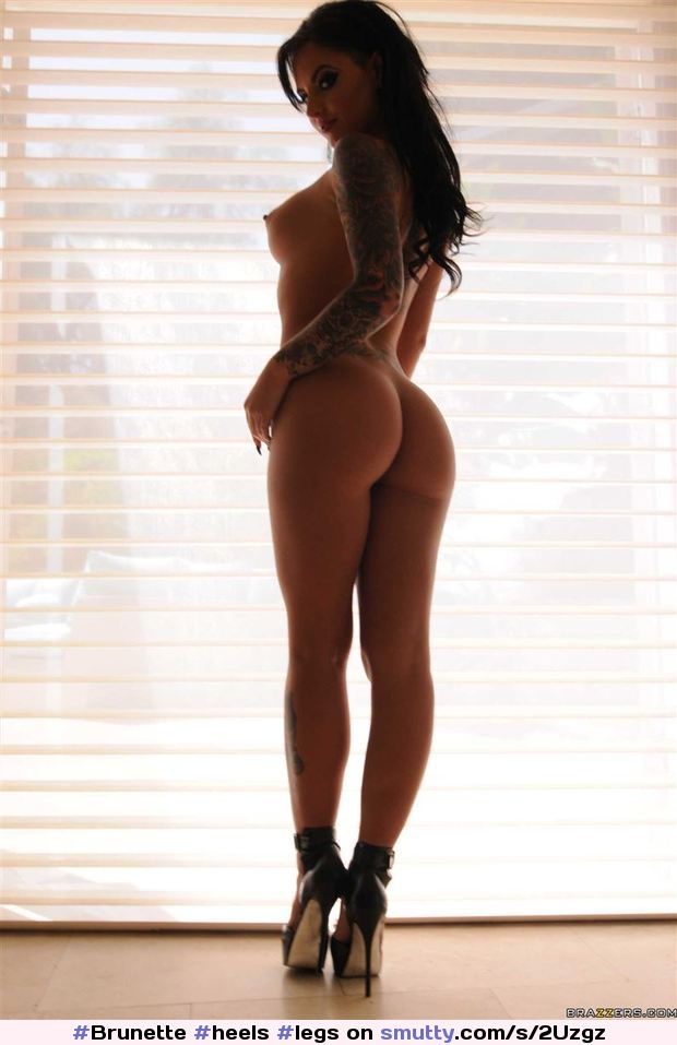 christy mack #heels #legs #ass #Brunette