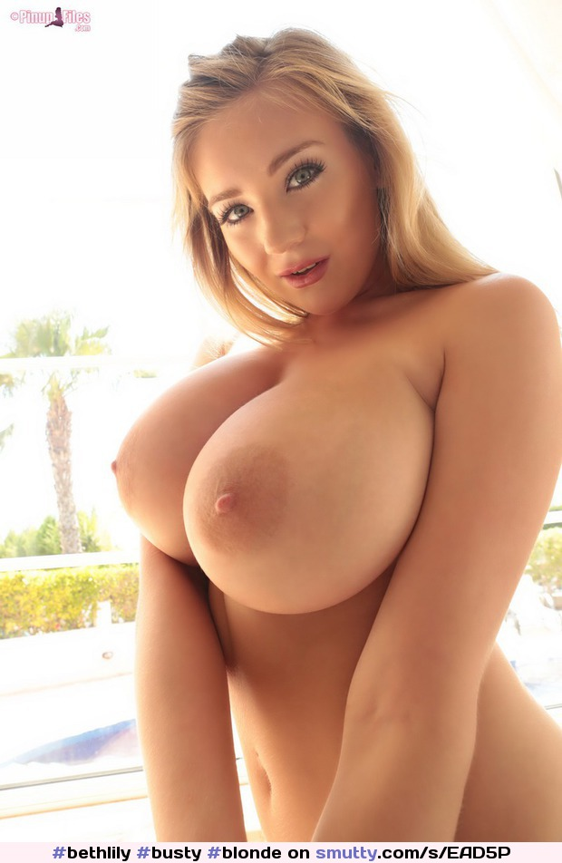 busty blonde Gorgeous
