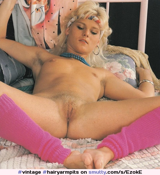 #vintage #hairyarmpits #hairy #smalltits #blondbush