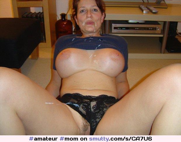 amatuer hot mom with cum