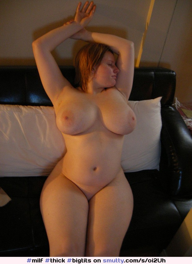 Thick curvy milf with big tits