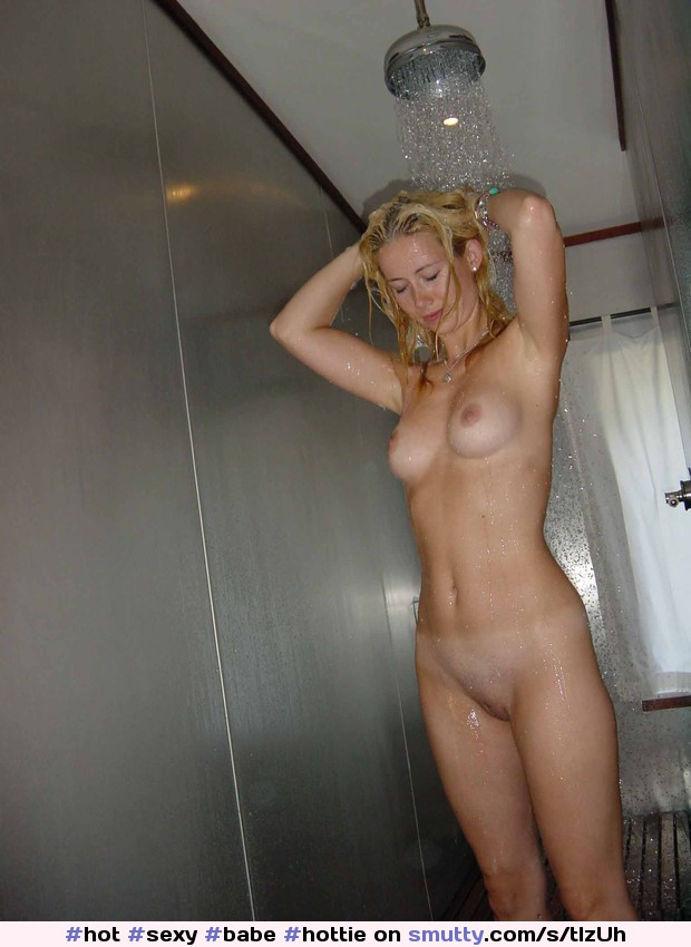 Naked pretty girl in the shower remarkable, this
