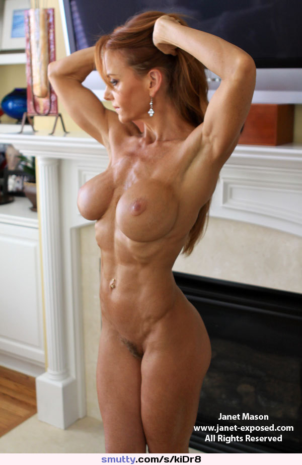 #JanetMason #fbb #fit #fitness #ripped #abs #redhead