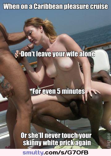 slut wife captions Interracial bbc