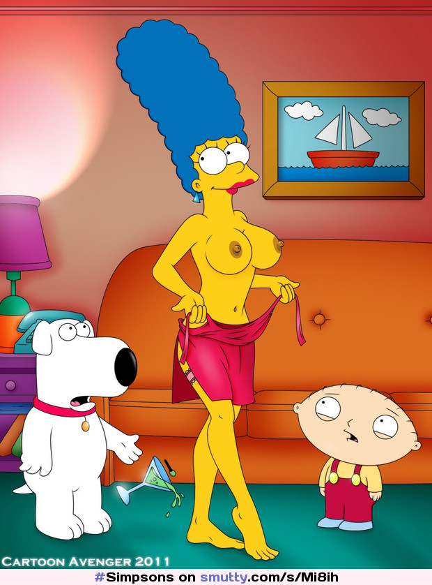 #Simpsons #MargeSimpson #briangriffin #stewiegriffin #flashing #milf #cartoon #FamilyGuy