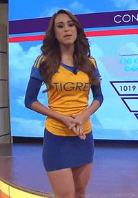 #Gif #YanetGarcia #Mexican #Latina #NN #Nonnude #Skirt #TightSkirt #SkinTight #Ass #Booty #Culo #NiceAss #PerfectBody #Curves #Hourglass