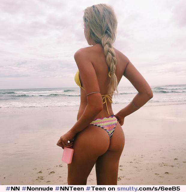 #NN #Nonnude #NNTeen #Teen #Bikini #Beach #Blonde #Fit # ...
