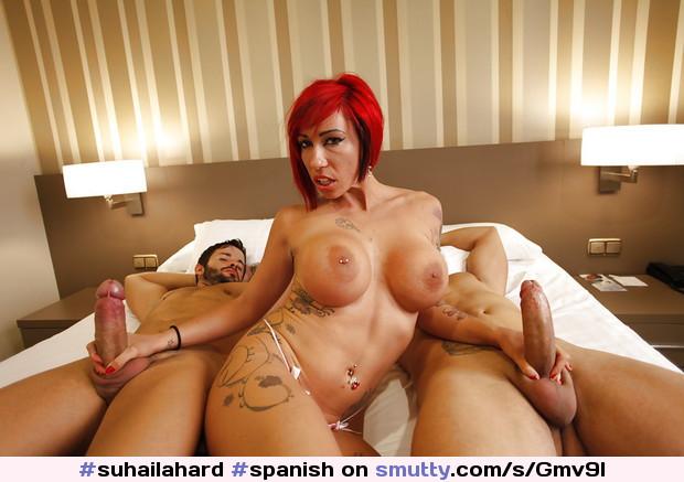 #suhailahard #spanish #redhead #busty #boobs #bigboobs #bigtits #tattoo #piercing #handjob
