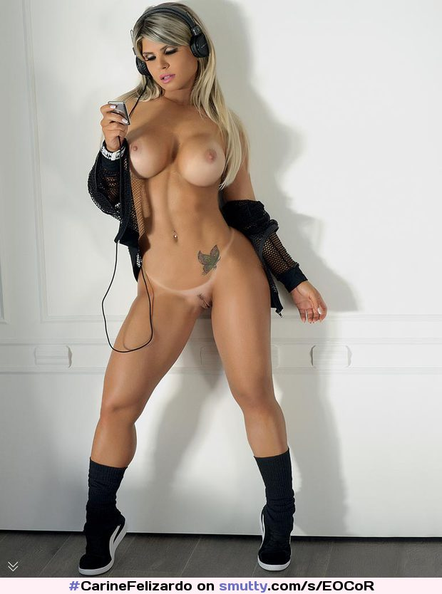 #CarineFelizardo #tatto #tanlines #fakeboobs #pussy #blonde #brazilian