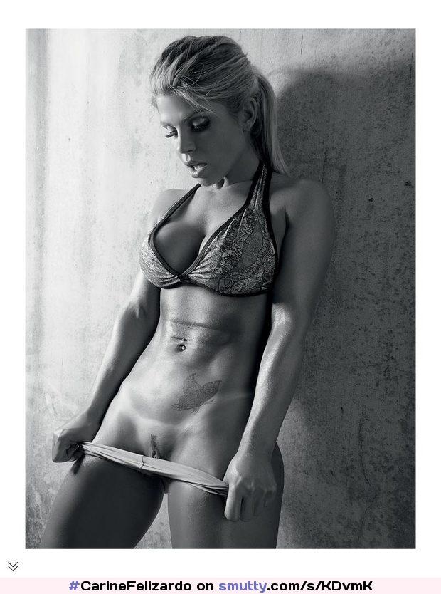 #CarineFelizardo #blonde #FlatStomach #pussy #PullingDownPanties #tanlines