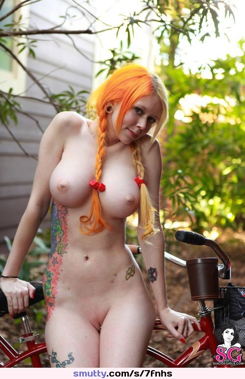 Redhead pigtails porn tattoo long time