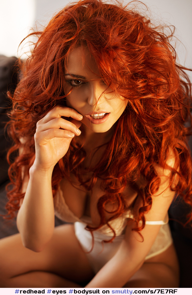#redhead #eyes #bodysuit #beautiful #erotic #longhair