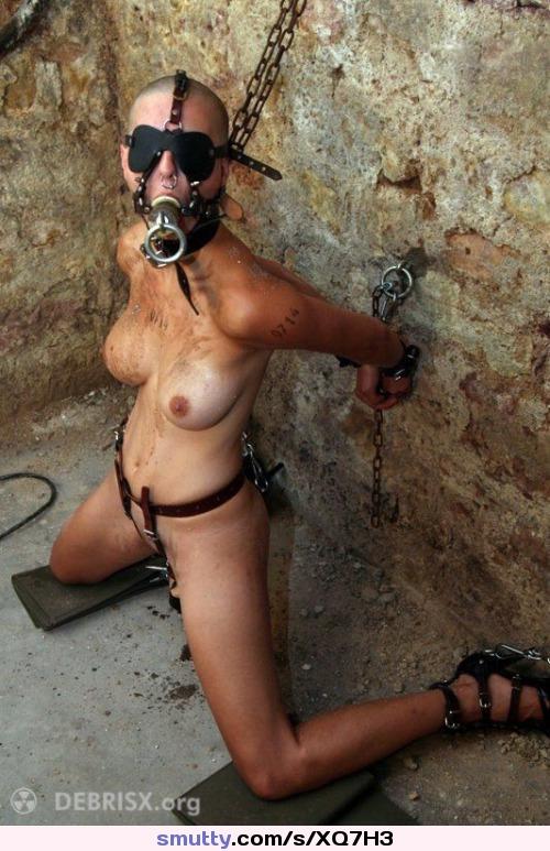 Hood bondage video