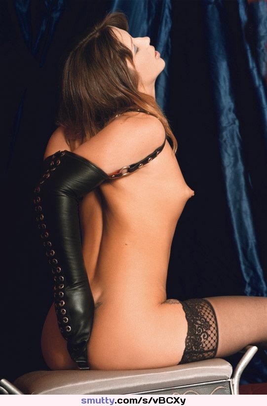 Vintage brunette bondage pity