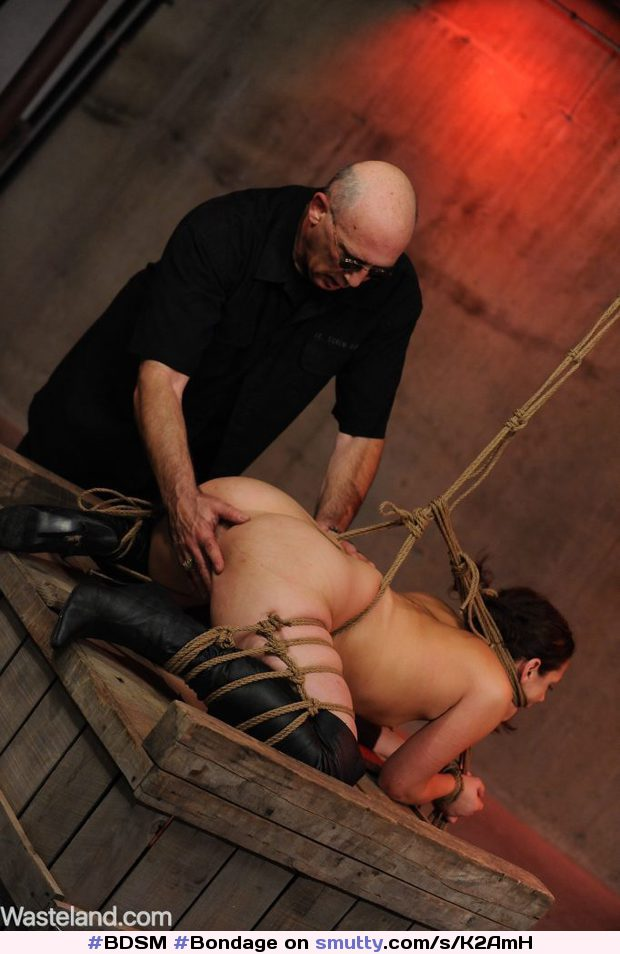 Bondage and discipline and fisting Squirts his