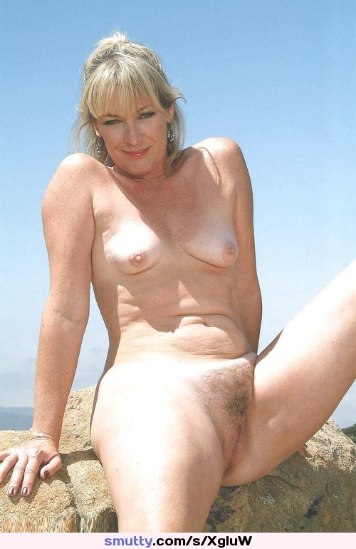 Naked Mature Outdoor