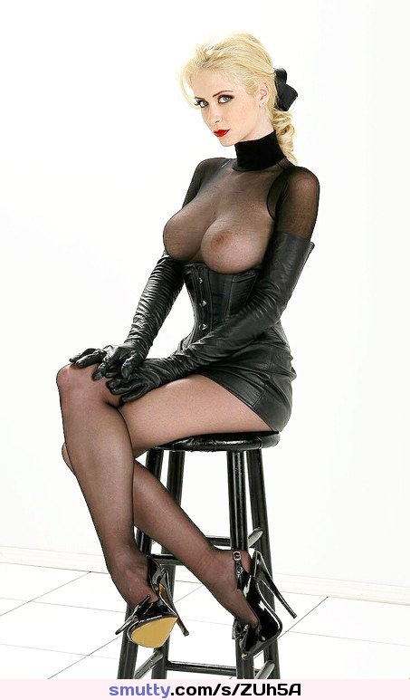 Sexy Lady In Latex