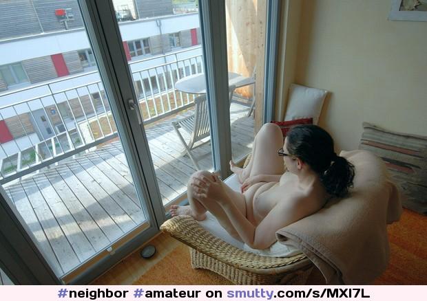 Exibitionist neighbor