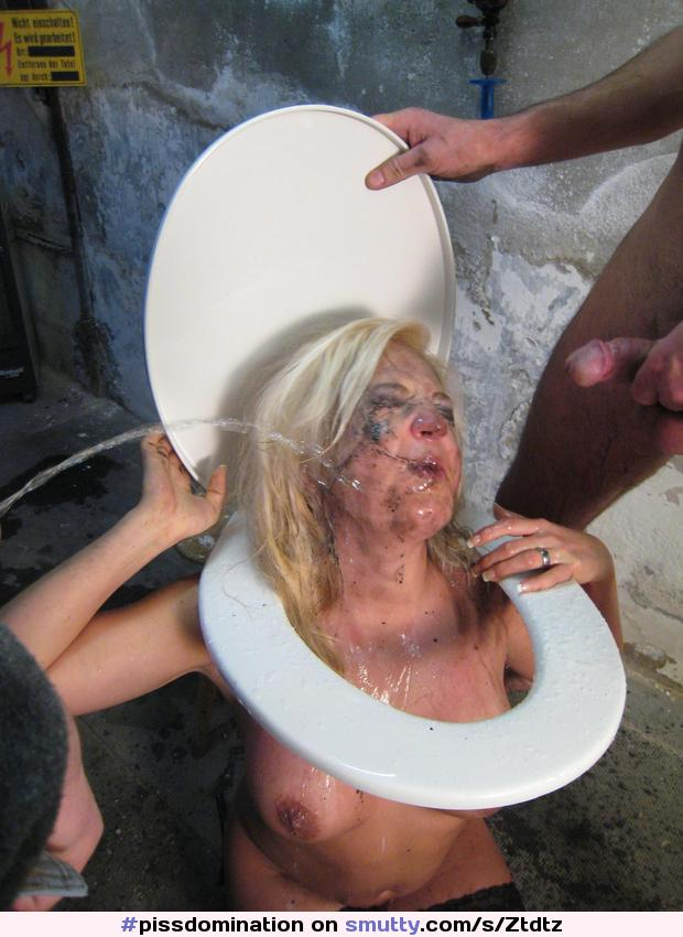 White trash piss whore cant get enough golden showers 10