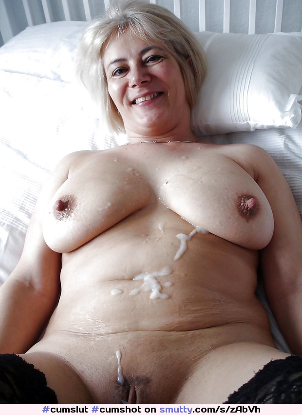 Tit shot big grannies cum
