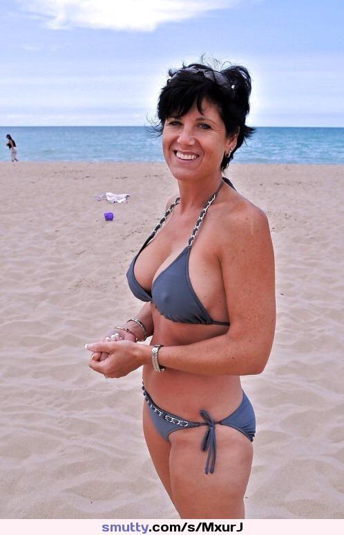 Possible tell, amateur milf bikini cleavage simply