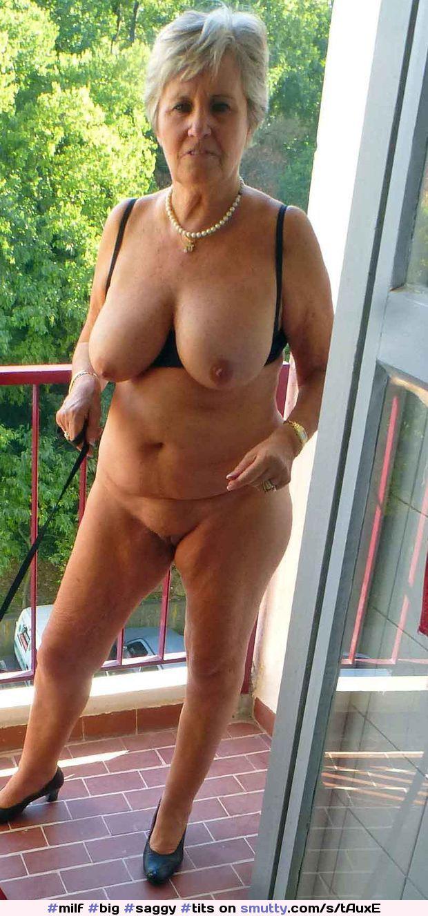 Gray Hair Big Tits 69