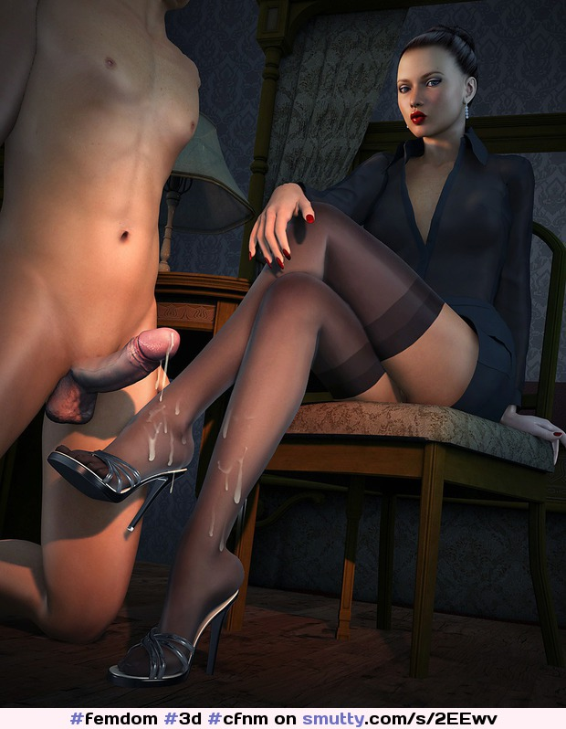 Stocking domination erotic nylon heels