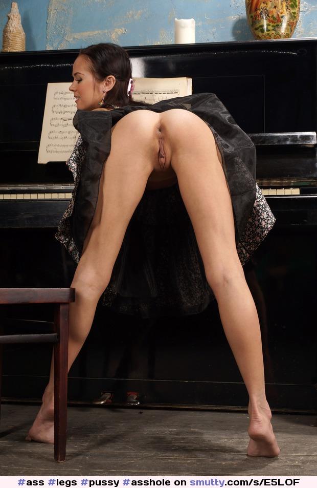 Upskirt long babe legs