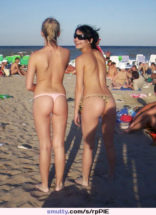 Are not Amateur teen thong beach