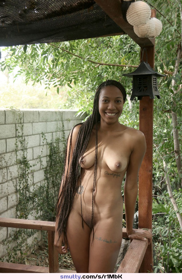 Black exhibitionist