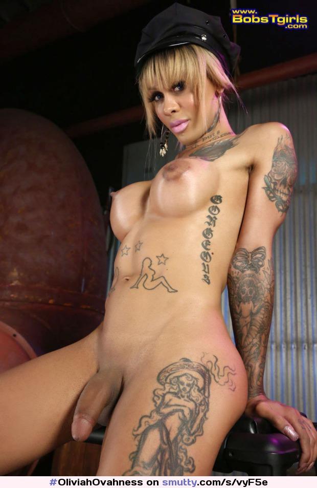 Transsexual tatoos on penis transsgender