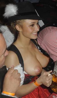 Dirndl Topless
